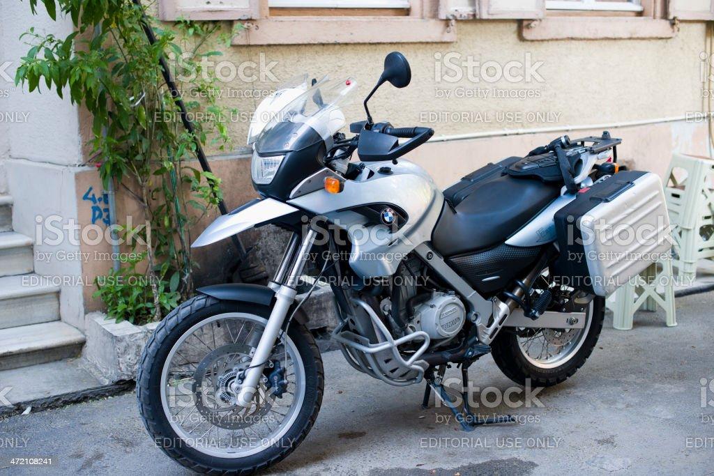 BMW F650GS Motorbike stock photo