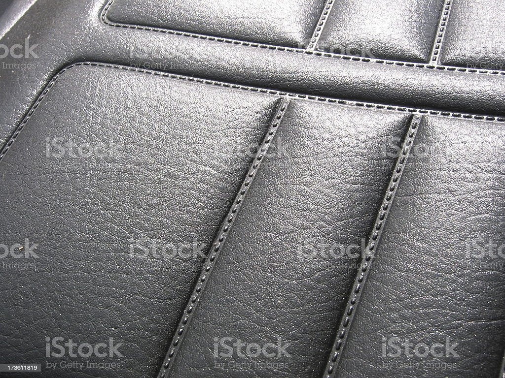 Motorbike Seat royalty-free stock photo