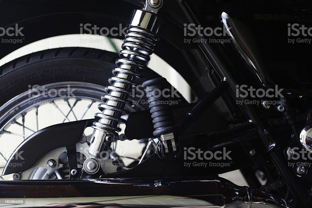 Motorbike Suspension royalty-free stock photo