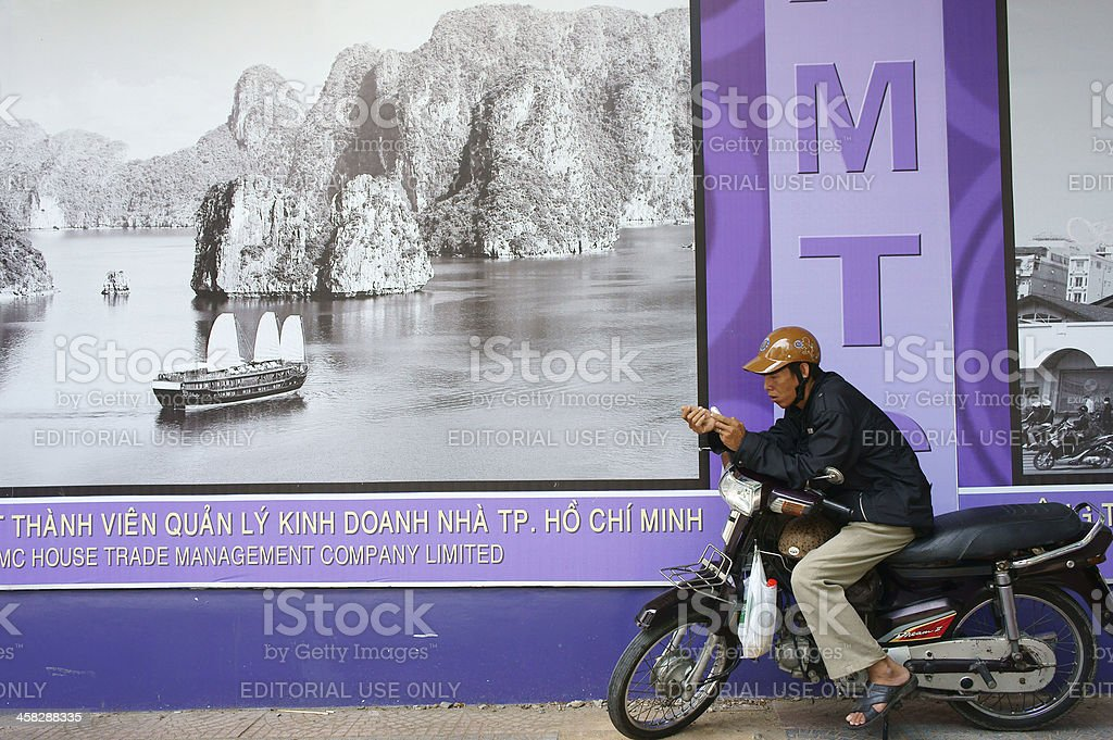 motorbike taxi royalty-free stock photo