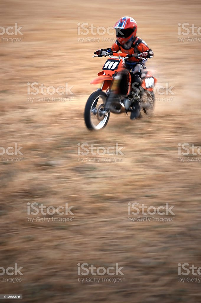 Motorbiker royalty-free stock photo