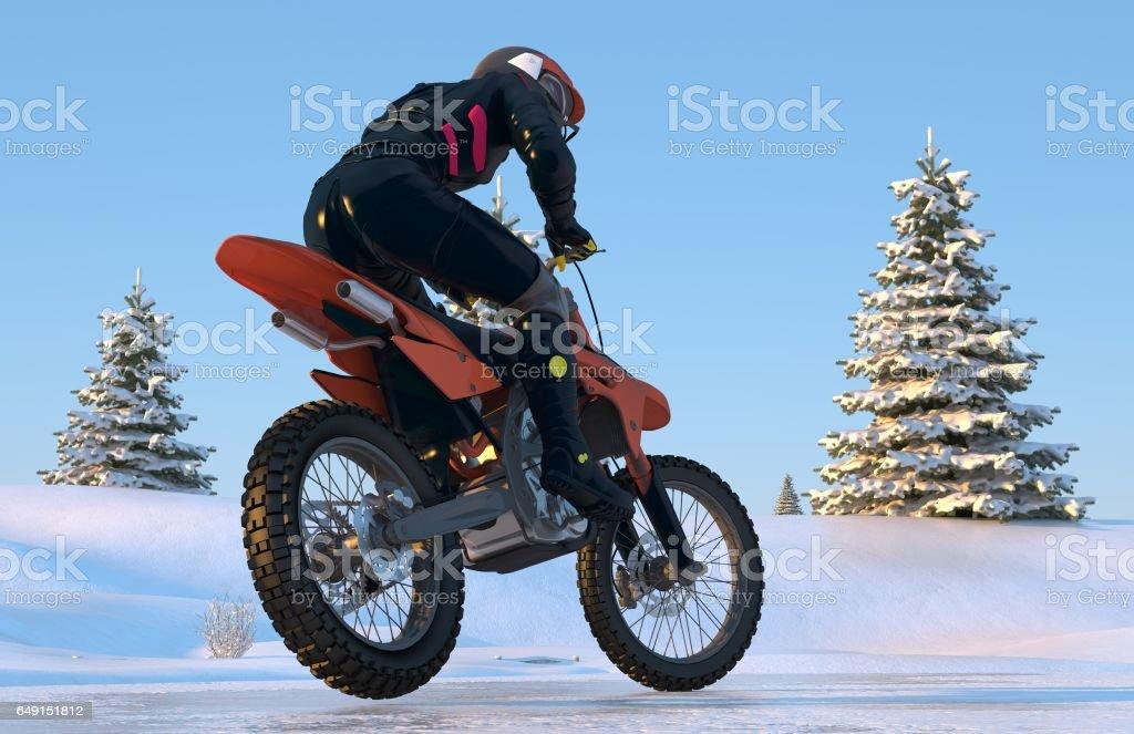 Motorcross stock photo