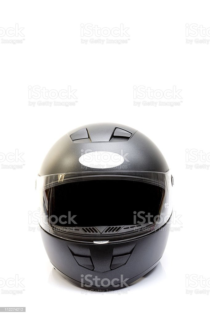 Motorcycle helmet royalty-free stock photo