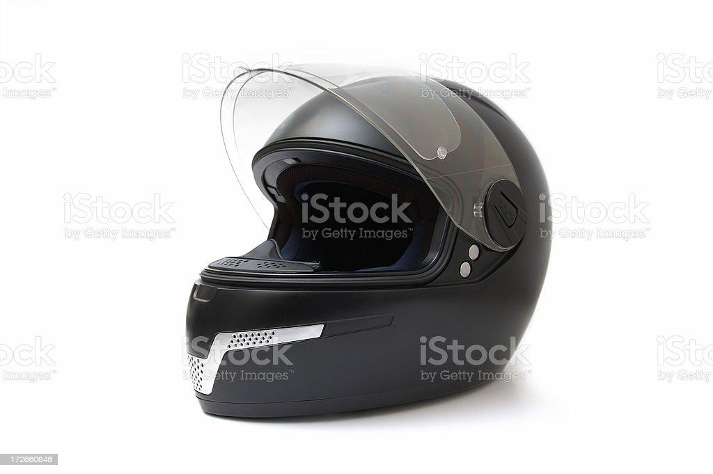 motorcycle helmet stock photo