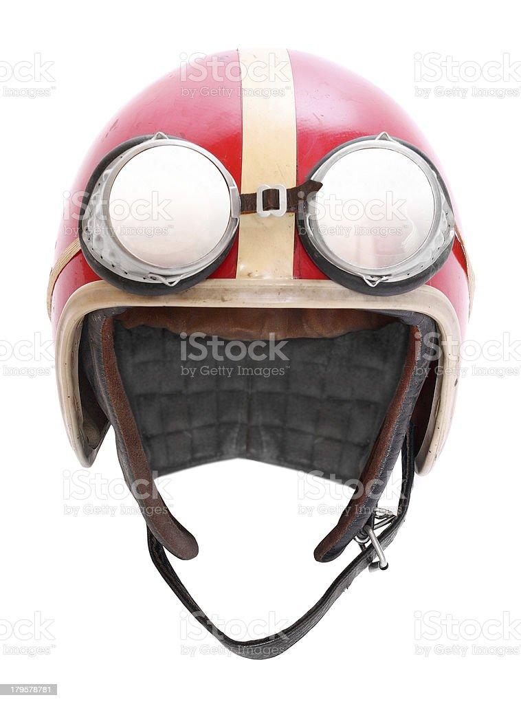 Motorcycle helmet. stock photo