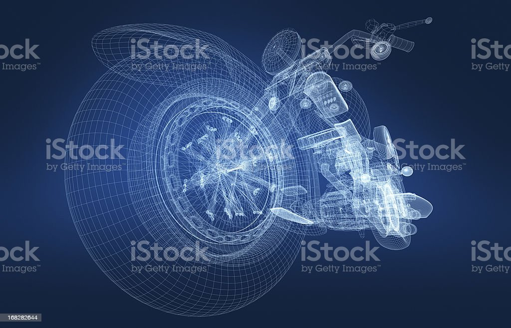 Motorcycle stock photo