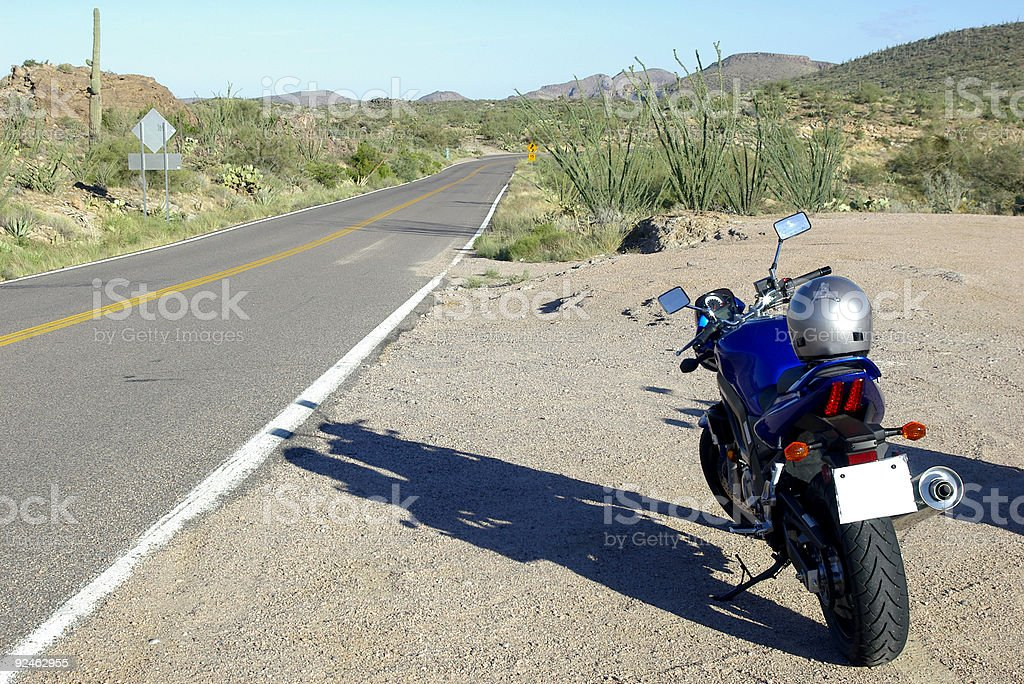 Motorcycle Rides stock photo