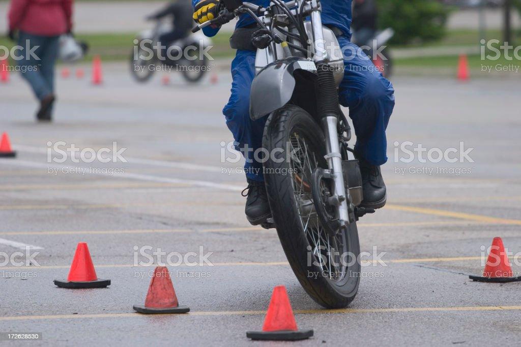 Motorcycle School 2 royalty-free stock photo