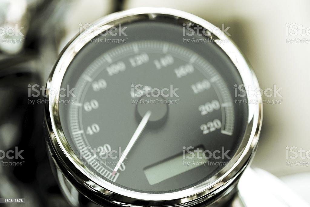 motorcycle tachometer royalty-free stock photo