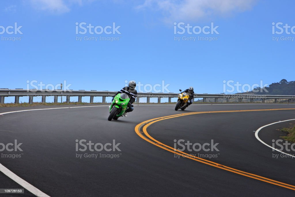 Motorcycles stock photo