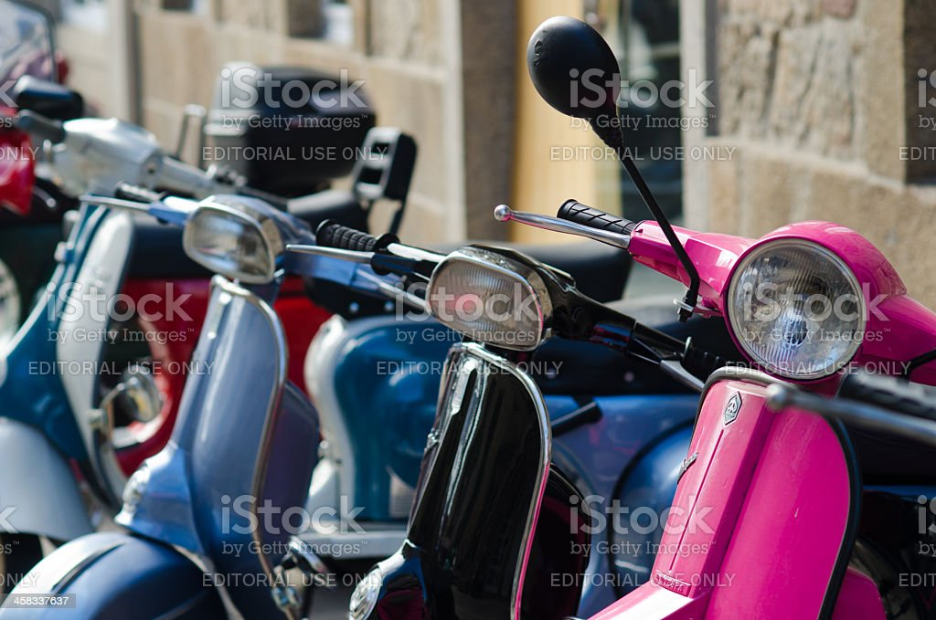 Motorcycles royalty-free stock photo