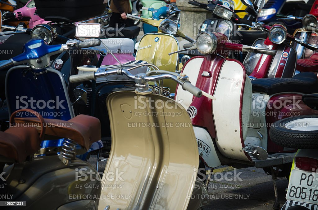 Motorcycles royalty-free stock photo