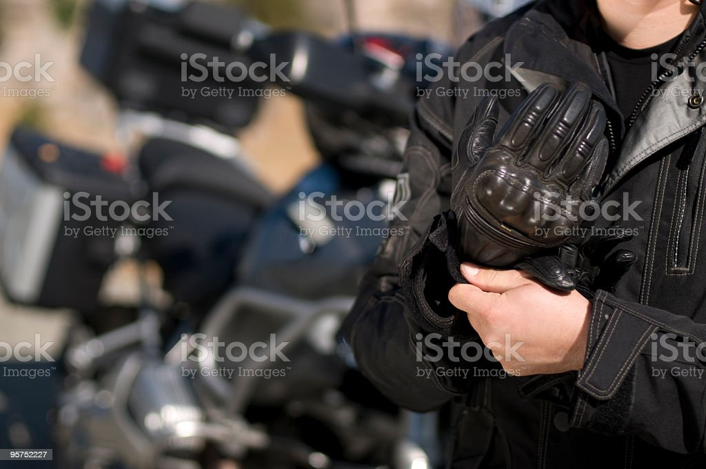 Motorist stock photo