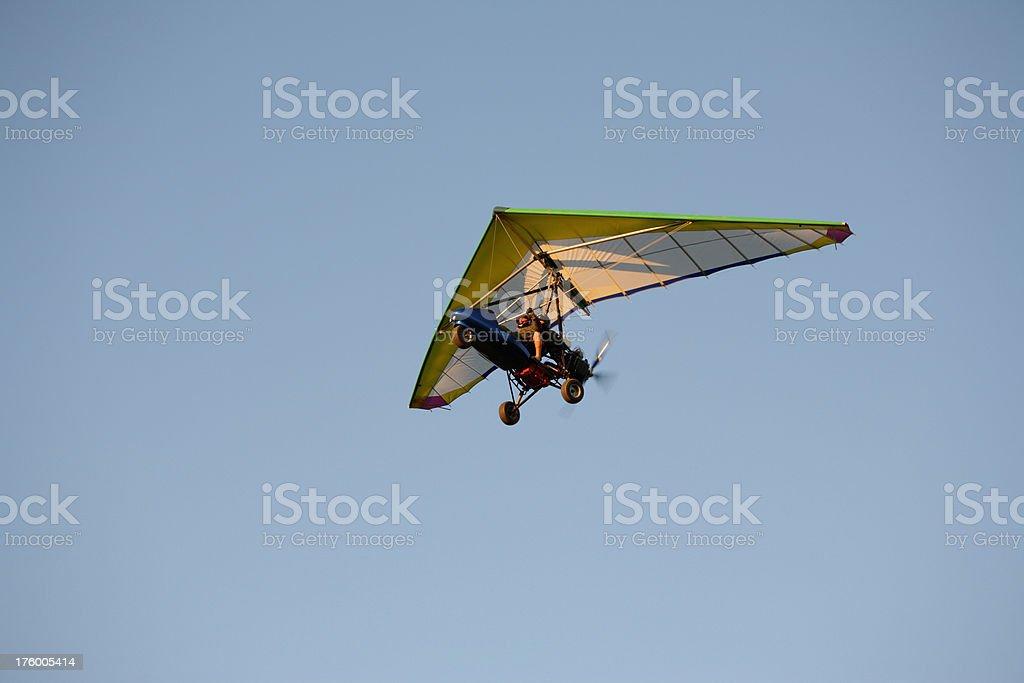 Motorized glider royalty-free stock photo