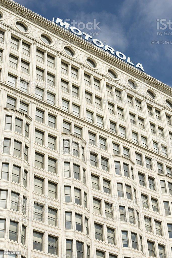 Motorola Building stock photo
