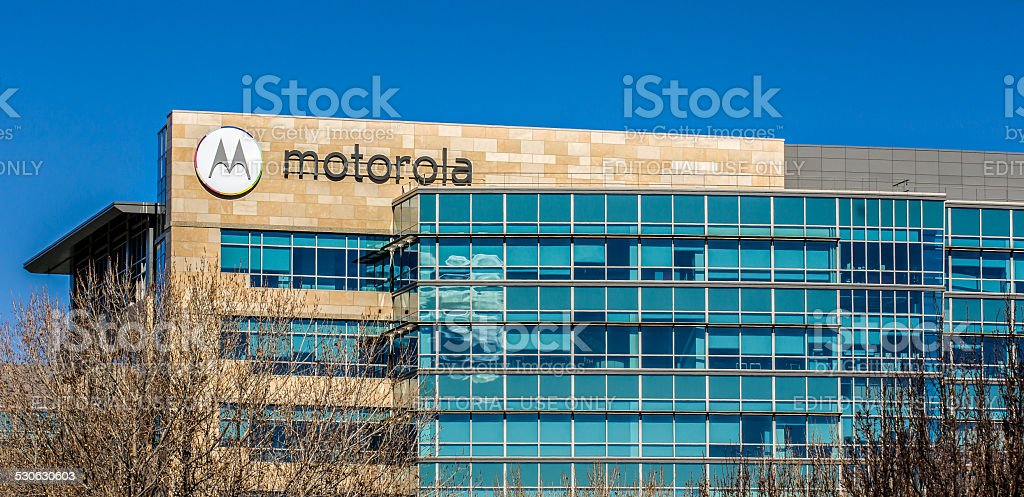 Motorola Headquarters in Silicon Valley stock photo