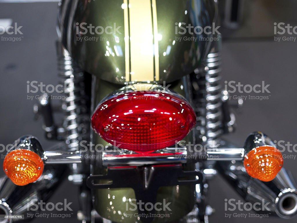 Motorrad stock photo
