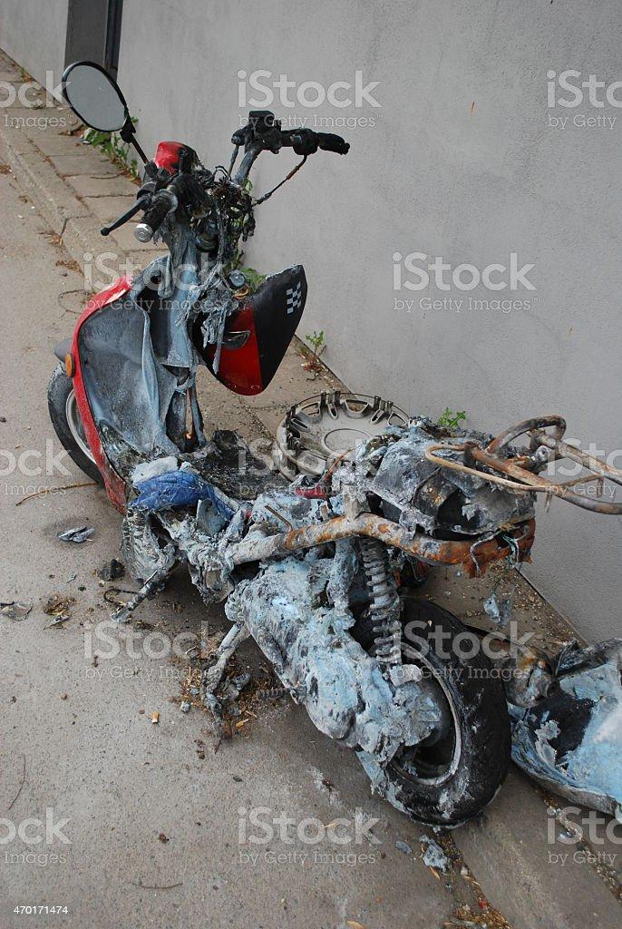 Motorroller stock photo