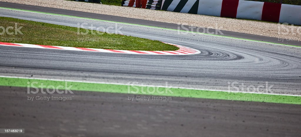 Motorsport Racetrack royalty-free stock photo