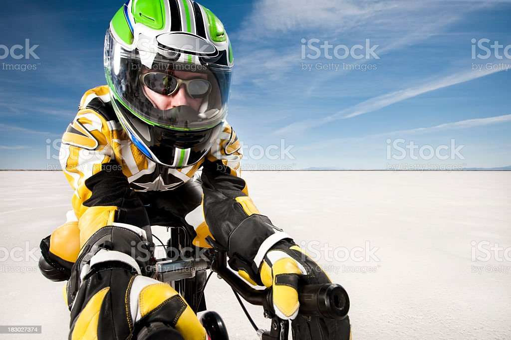 Motorsports Racer royalty-free stock photo