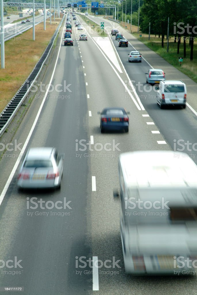 Motorway 2 royalty-free stock photo
