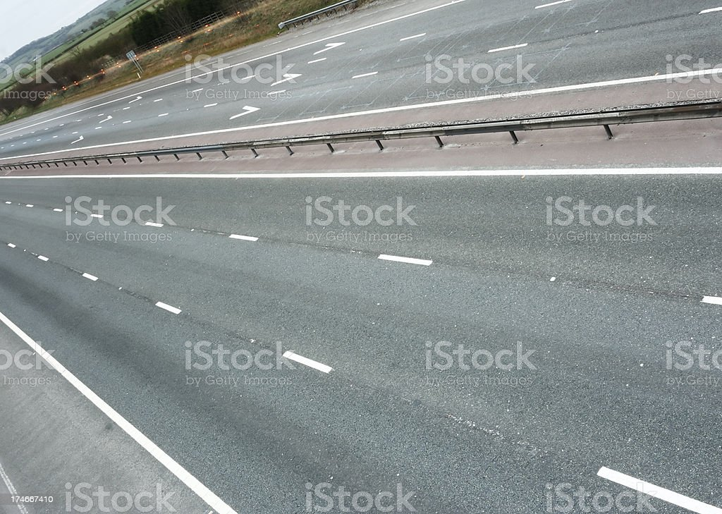 Motorway Abstract royalty-free stock photo