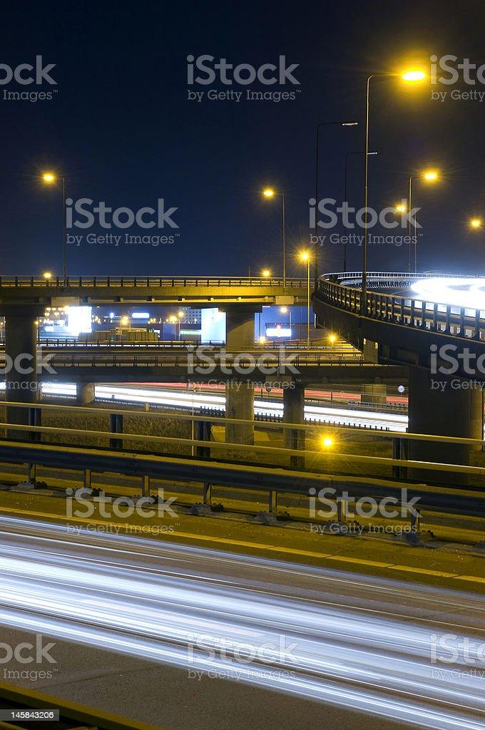 Motorway Over-pass royalty-free stock photo