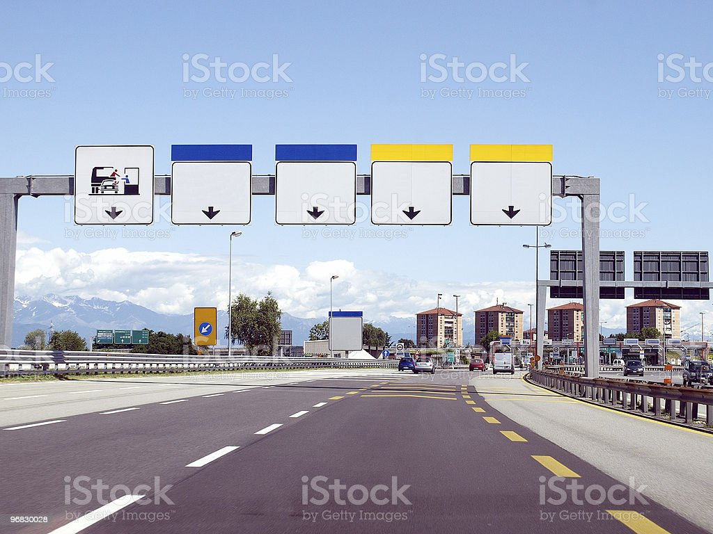 Motorway stock photo
