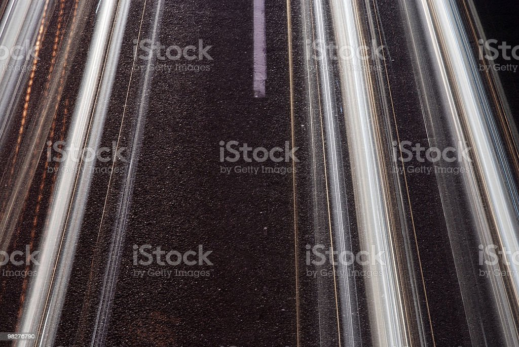 autobahn royalty-free stock photo