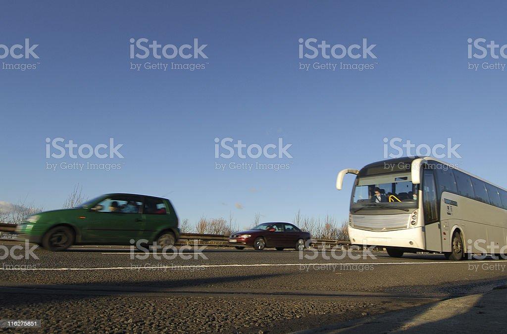 Motorway Traffic, M5 #2 stock photo