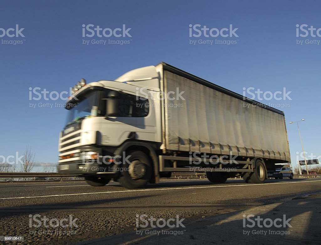 Motorway Traffic, M5 #1 stock photo