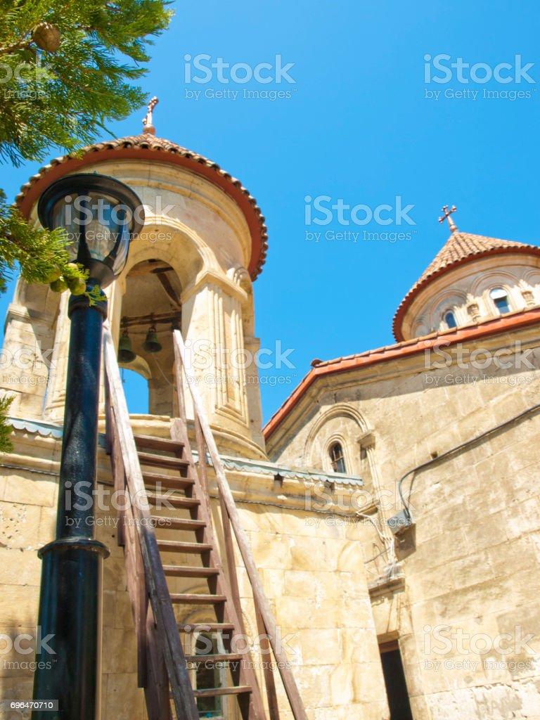 Motsameta Monastery at Kutaisi, Georgia stock photo