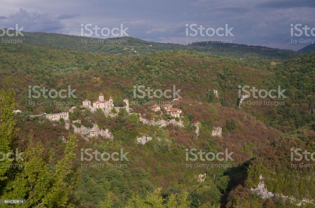 Motsameta Monastery (Motsameta Church) near Kutaisi,  Imereti region stock photo