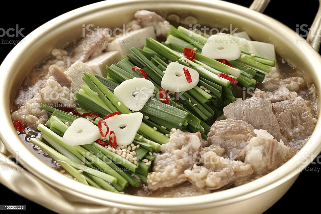 motsunabe, japanese cuisine royalty-free stock photo