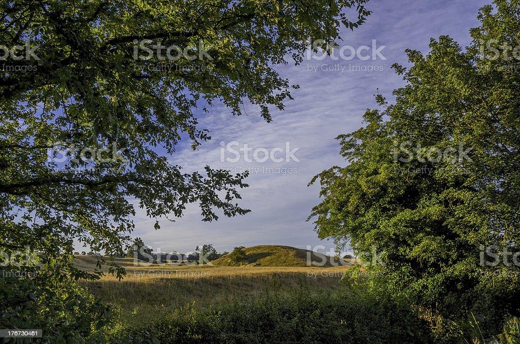 motte stock photo
