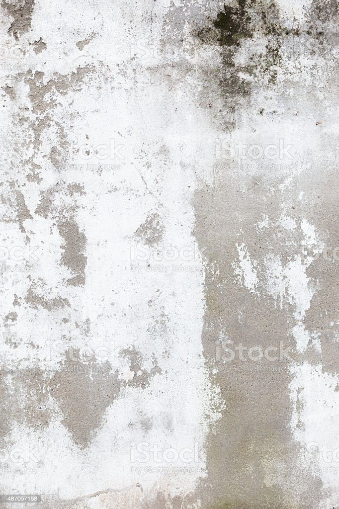 Mottled cement wall stock photo