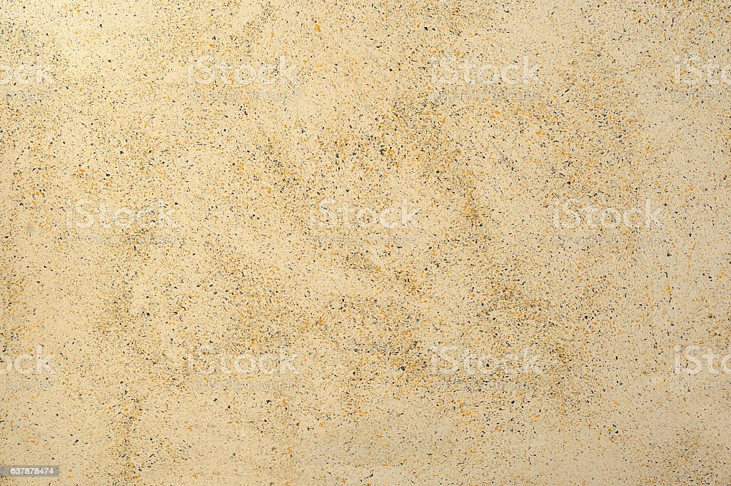 mottled decorative stucco with stone structure background stock photo