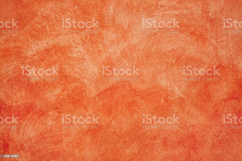 Mottled Red Wall Texture royalty-free stock photo