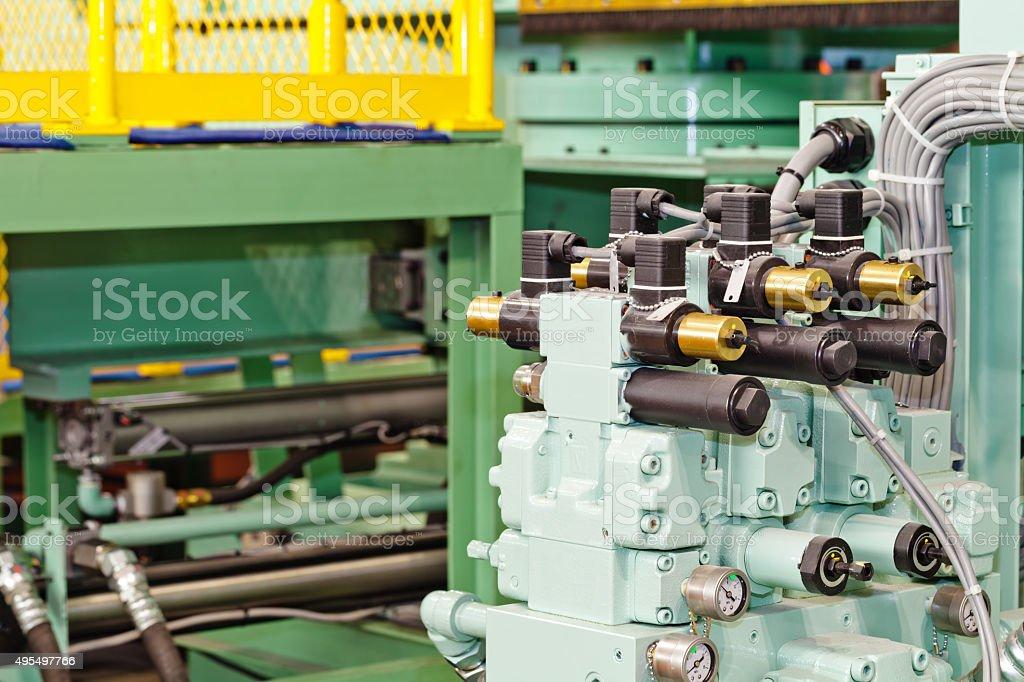 moudular valve stock photo