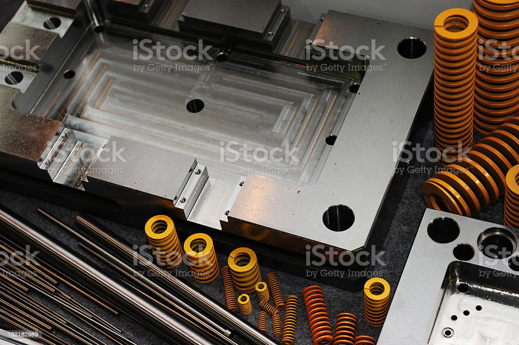Mould Base and equipment royalty-free stock photo