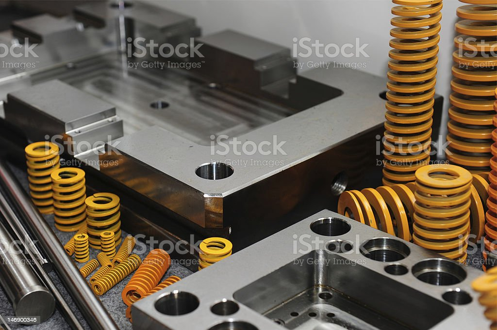 Mould Base & equipment royalty-free stock photo