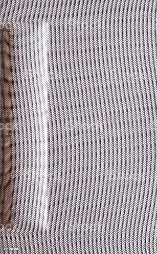 Moulded EVA luggage metallic pattern texture royalty-free stock photo