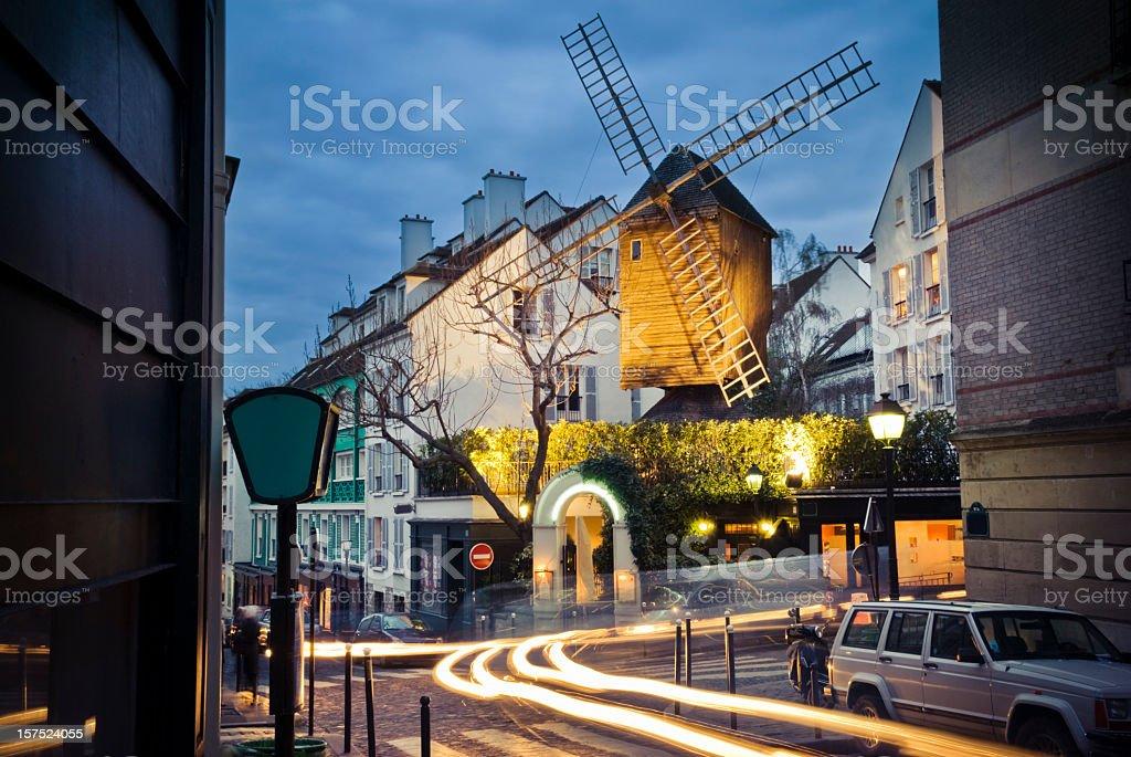 Moulin de la galette stock photo