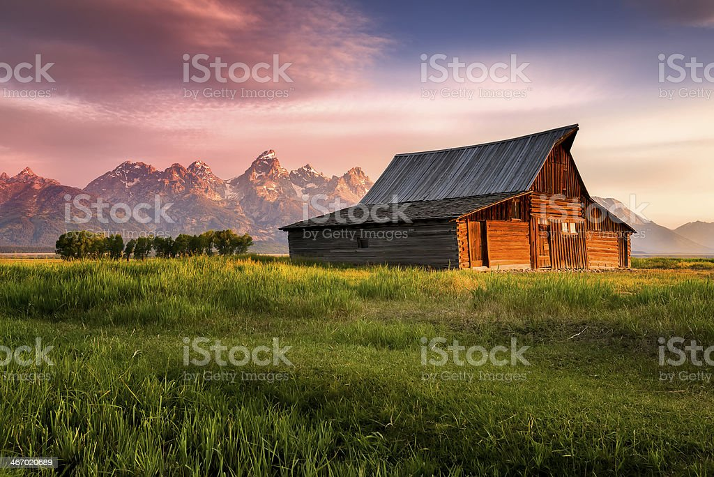 T. A. Moulton Barn stock photo