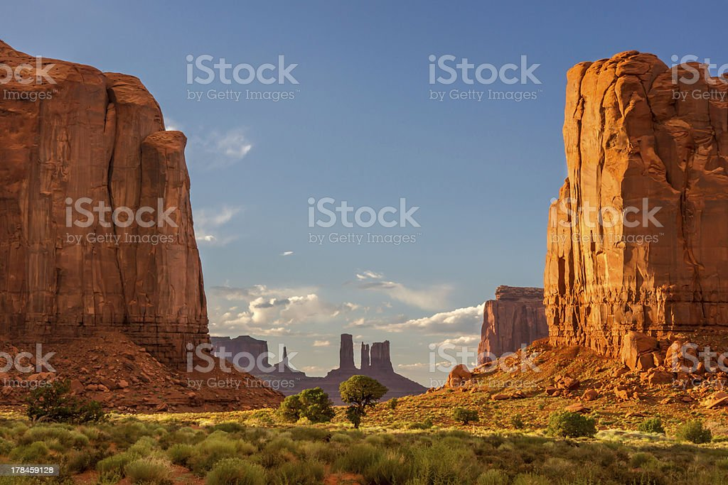 Mounment Valley stock photo