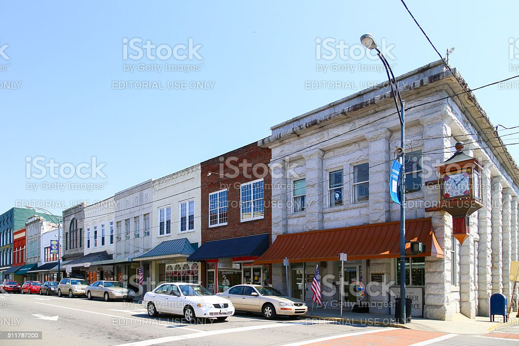 Mount Airy Chamber of Commerce stock photo