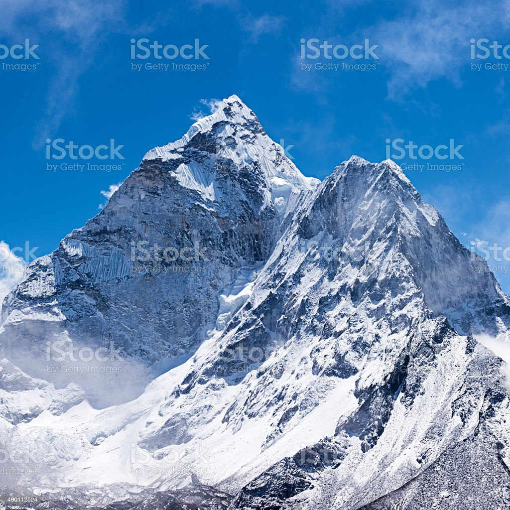 Mount Ama Dablam - Himalaya Range, Nepal stock photo