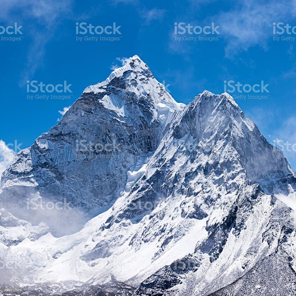 Mount Ama Dablam - Himalaya Range, Nepal stock photo