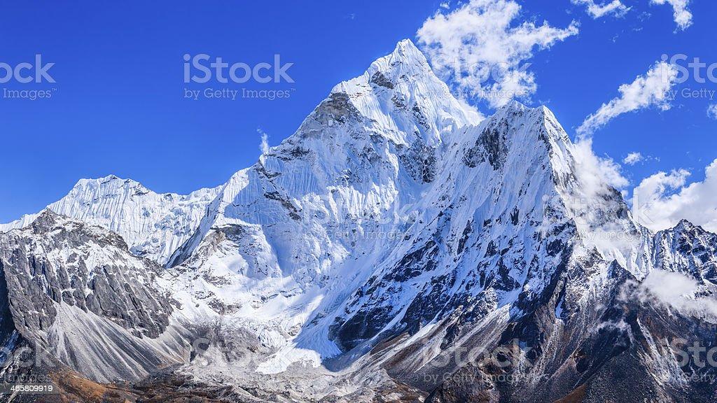 Mount Ama Dablam - Himalaya Range royalty-free stock photo