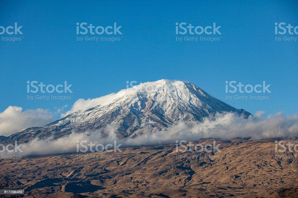 Mount Ararat, East Turkey stock photo